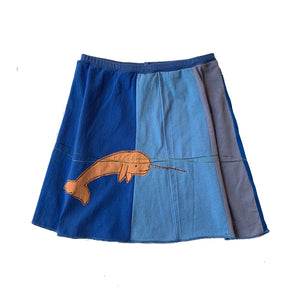 Kids Skirt-Narwhal