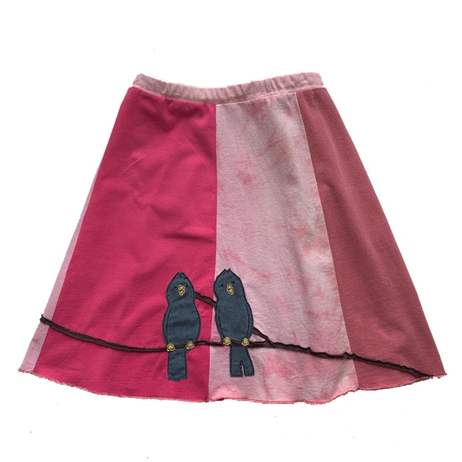 Kids Skirt-Pointy Headed Bird