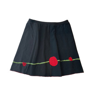 Mini Skirt-Rose