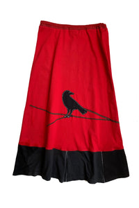 Long Skirt-Crow