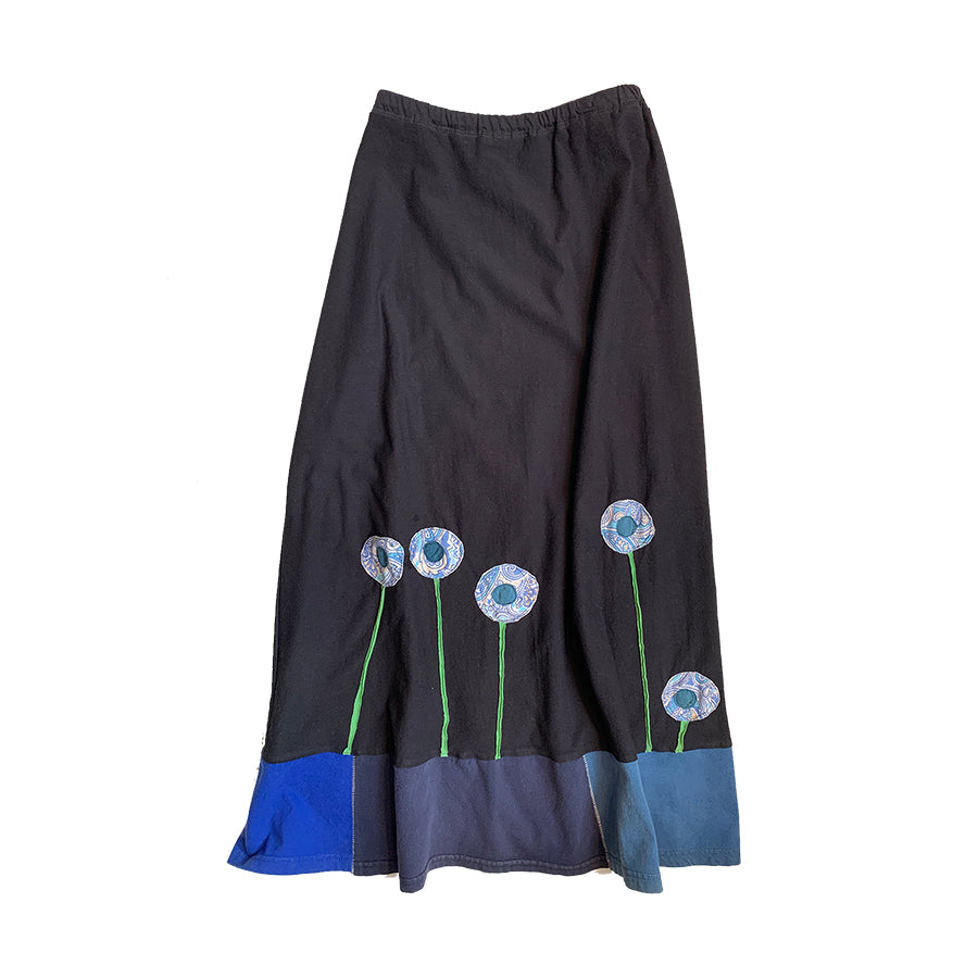 Long Skirt-Patterned Poppy