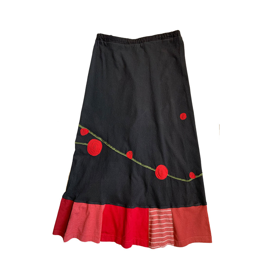 Long Skirt-Rose