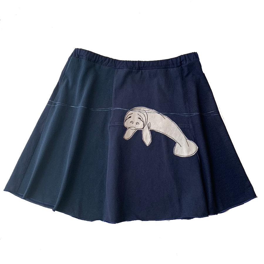 Mini Skirt-Manatee