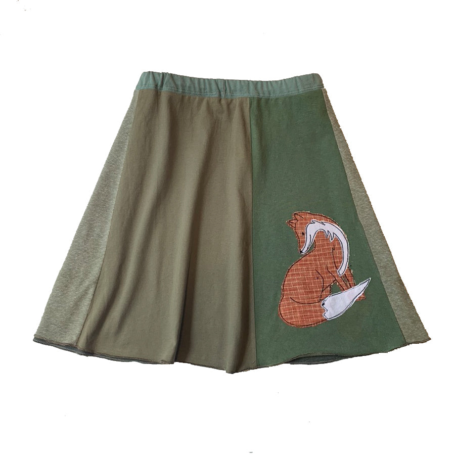 Mini Skirt-Fox
