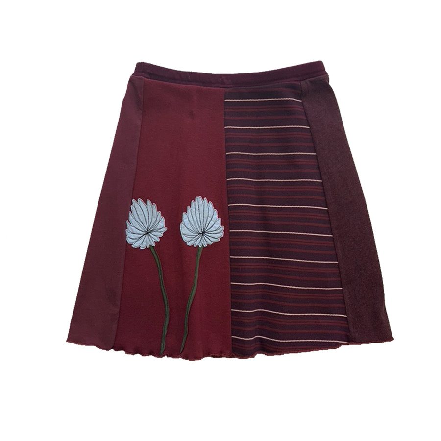 Mini Skirt-Chrysanthemum