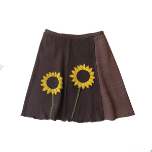 Kids Skirt-Sunflower