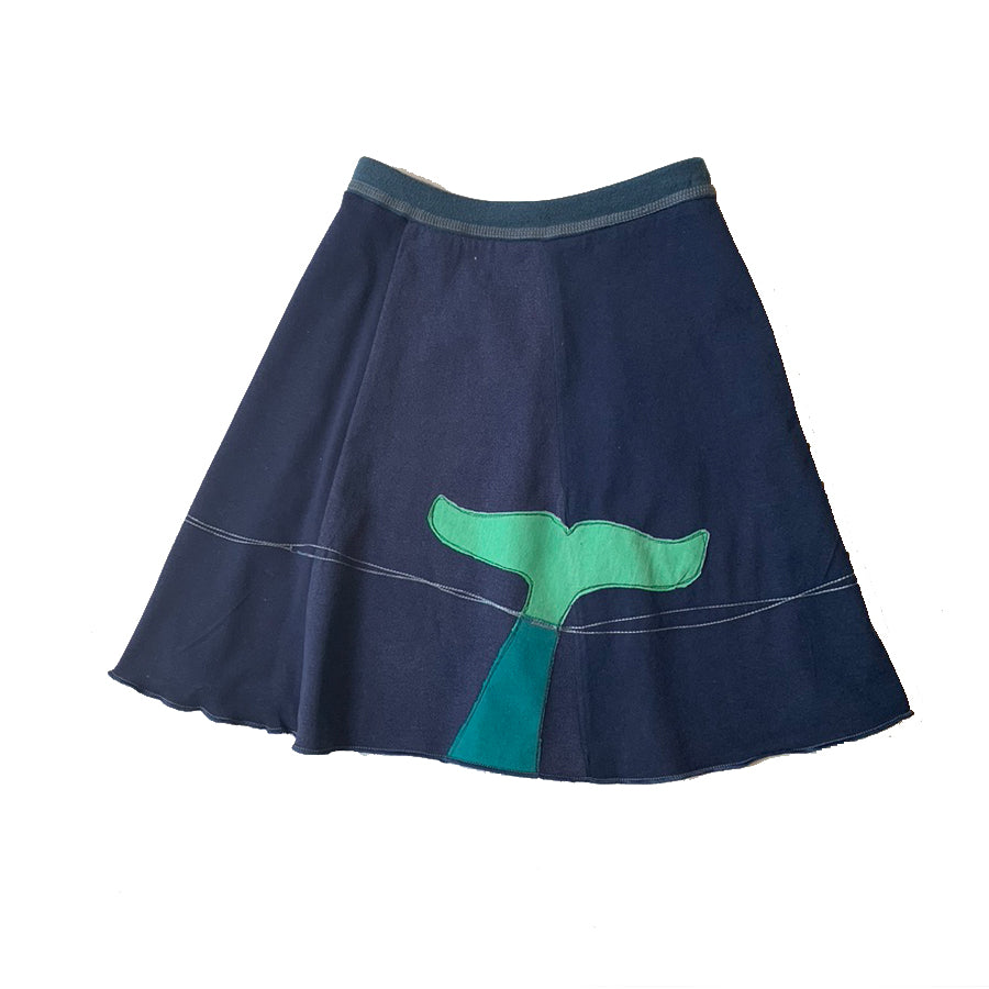 Mini Skirt-Whale Tail