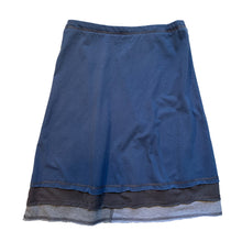 Load image into Gallery viewer, Three Layer Skirt-Blue