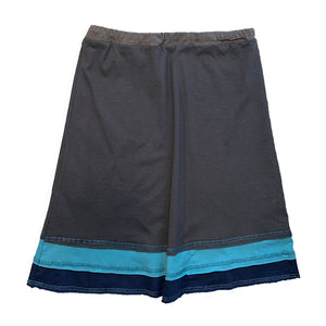 Three Layer Skirt-Blue