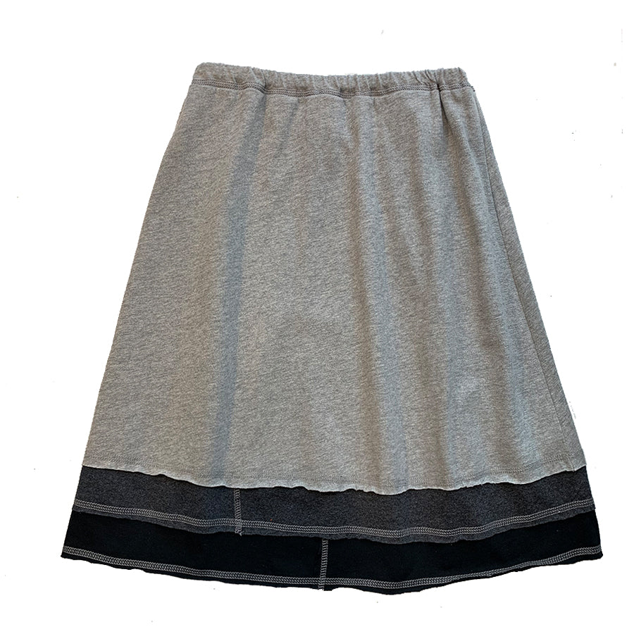 Three Layer Skirt-Grey