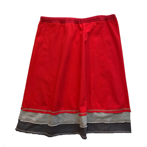 Three Layer Skirt-Red