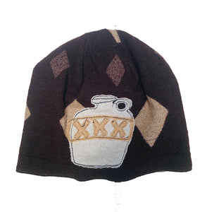 Wool Hat-Whiskey Jug