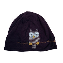 Load image into Gallery viewer, Wool Hat-Owl