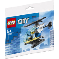 30367 Police Helicopter Polybag - LEGO City
