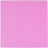 10x10 inch Lego-compatible FLAT BOTTOM baseplate (many colors)