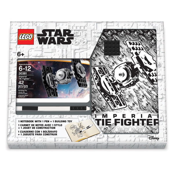 52578 Star Wars Tie Fighter Journal and Stationary Set