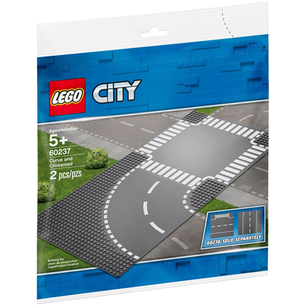 60237 Curve and Crossroads Baseplates