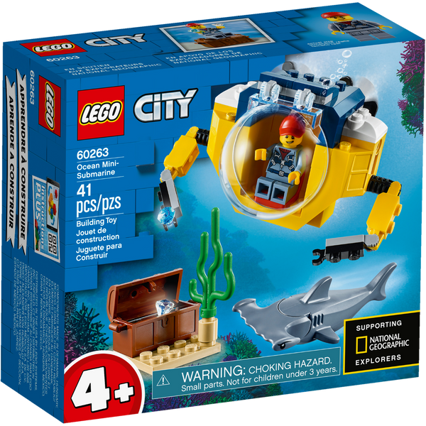 60263 Ocean Mini Submarine