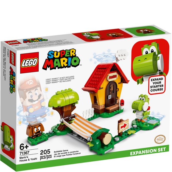 71367 Mario's House & Yoshi Expansion Set