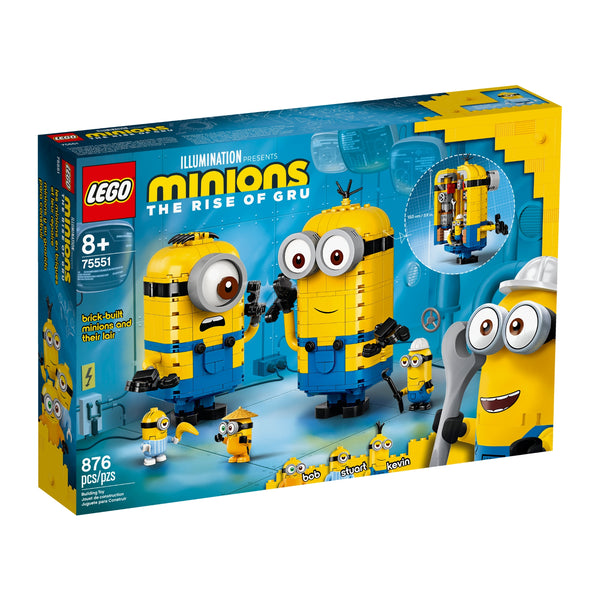 75551 LEGO® Brick Built Minions and Their Lair