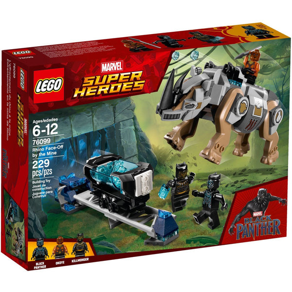 76099 Rhino Face Off by the Mine - LEGO Marvel Super Heroes