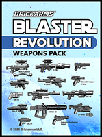 Blaster Weapons Pack: Revolution - Brickarms