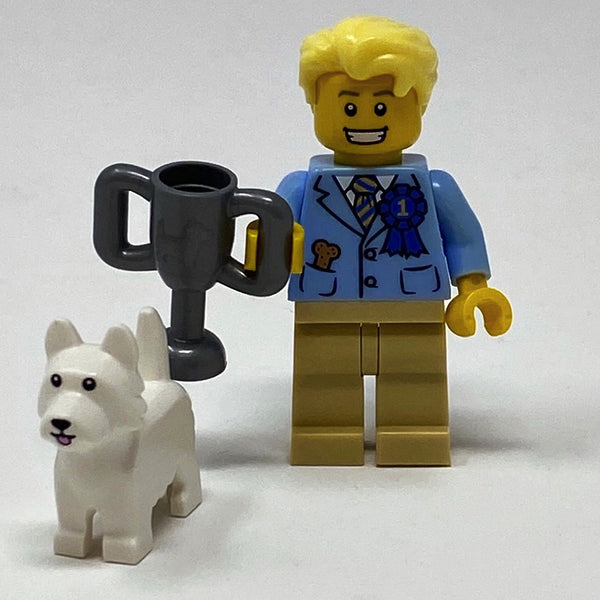 Dog Show Winner - Series 16 Minifigure