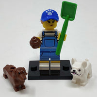 Dog Sitter - Series 19 Minifigure