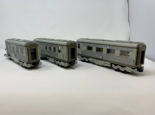 10022-1 Santa Fe Exclusive Passenger Train Cars (Used)