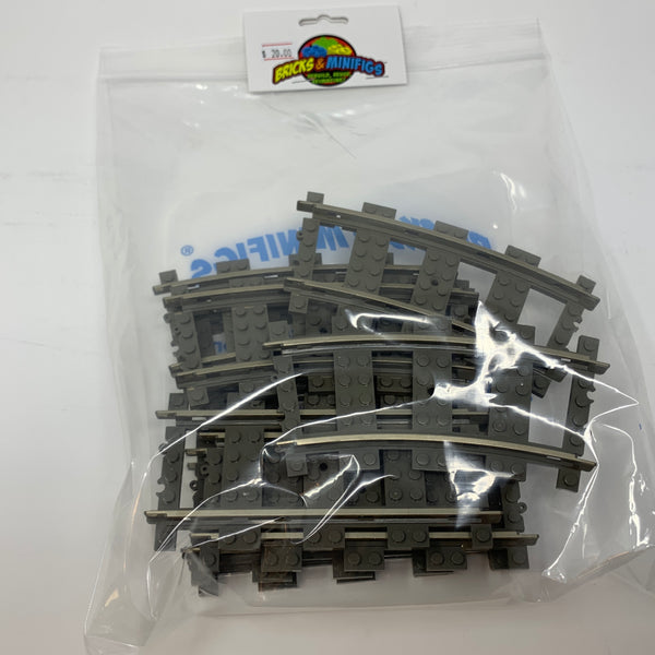 9-Volt Electric LEGO® Train Track 10-Pack