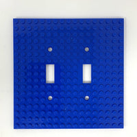 Double Light Switch Plate