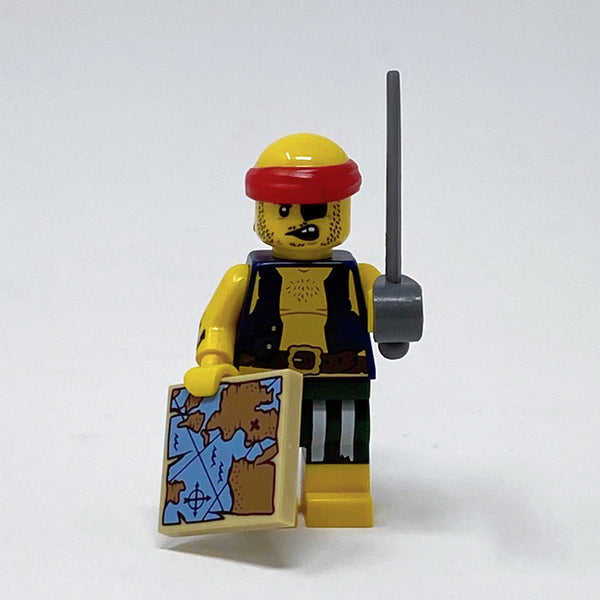Scallywag Pirate - Series 16 Minifigure