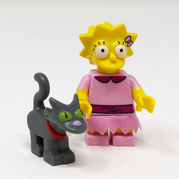 Lisa and Snowball II - The Simpsons Series 2 Minifigure