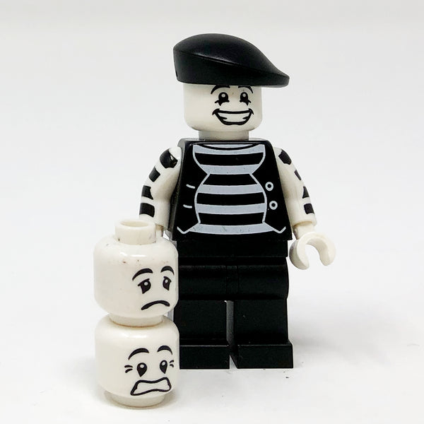 Mime, Beret - Series 2 Minifigure
