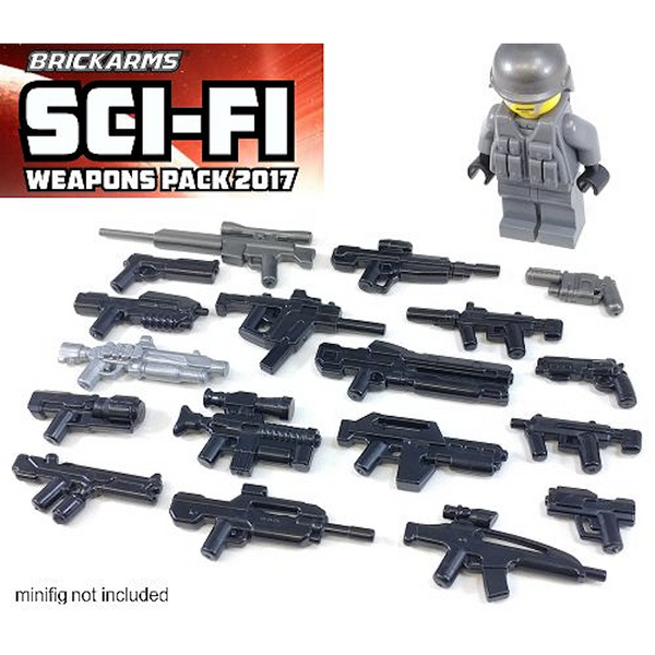 SciFi Weapons Pack - Brickarms