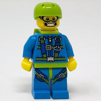 Skydiver - Series 10 Minifigure