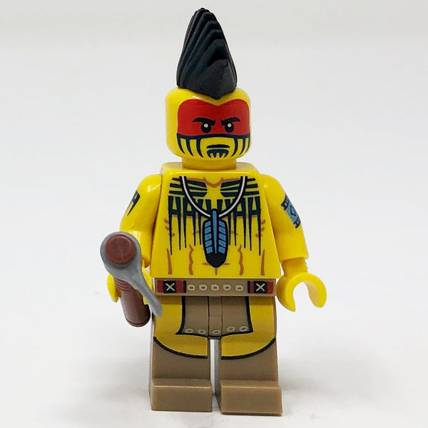 Tomahawk Warrior - Series 10 Minifigure