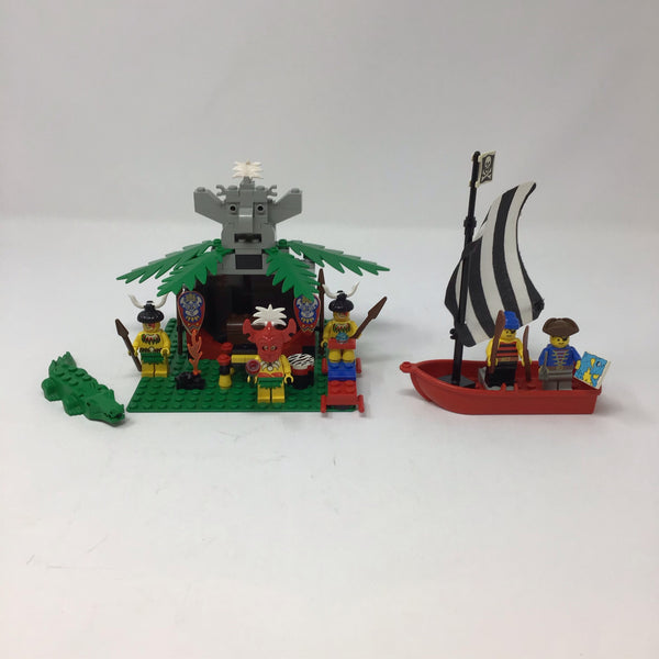 6262-1 (King Kahuka's Throne (Used) - LEGO System