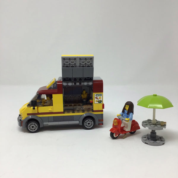 60150-1 City Pizza Van (Used)