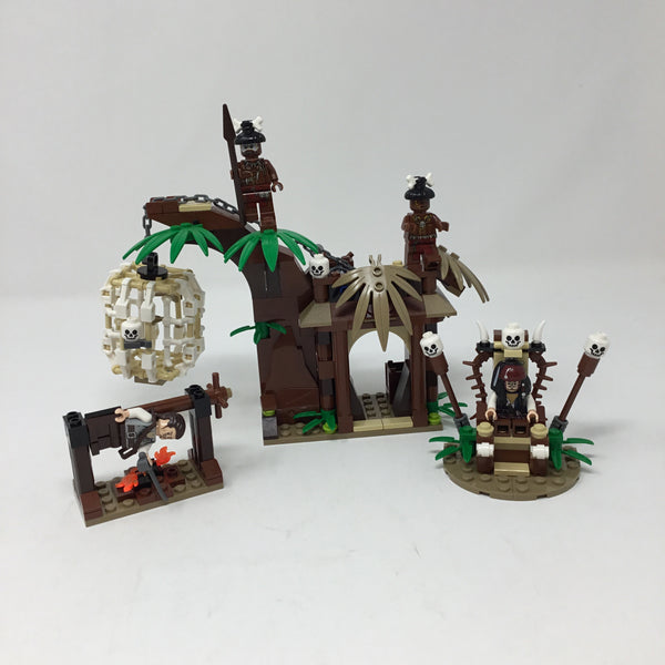 4182-1  The Cannibal Escape(Used) - LEGO Pirates of the Caribbean