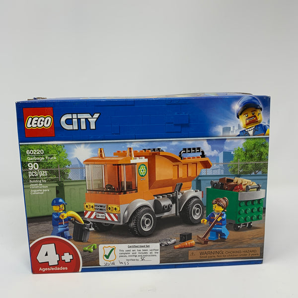 60220-C City Garbage Truck 4+ (Certified Used)
