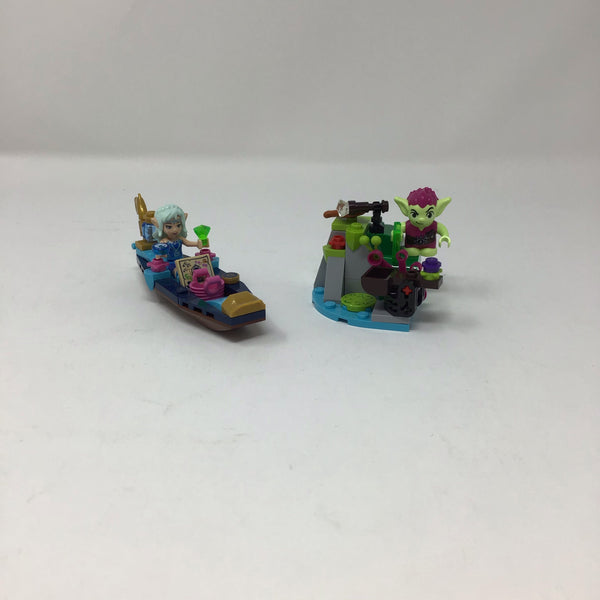 41181-1 Elves Naida's Gondola & The Goblin Thief(Used)