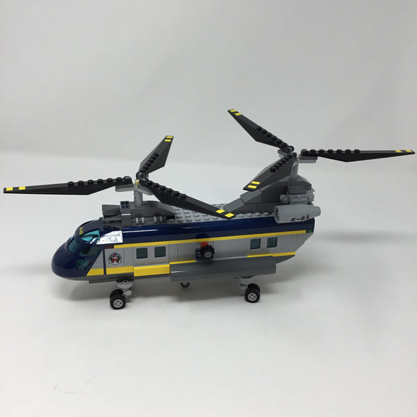 60093-3 City Deep Sea Helicopter (Used)