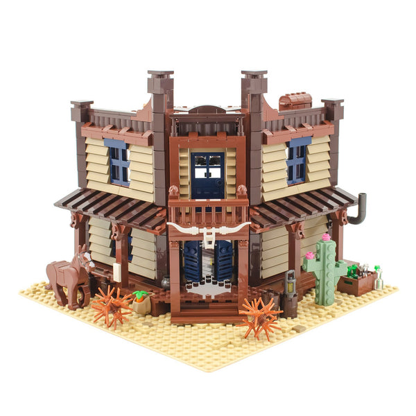 BL19004 Wild West Saloon