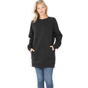 Over sized Longline Sweatshirt.