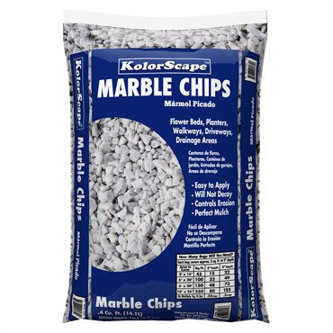 Kolorscape White Marble Chips (0.5 Cubic Feet)