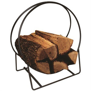 "20"" Tubular Steel Firewood Holder"