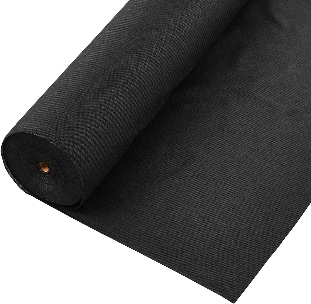 Dewitt Weed Barrier Fabric (3'x300')  / Professional Grade Landscape Fabric (Black)