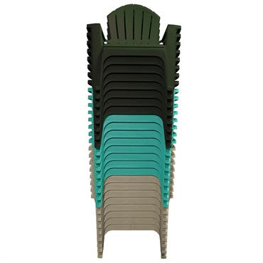 RealComfort Adirondack Chair- Color Grey