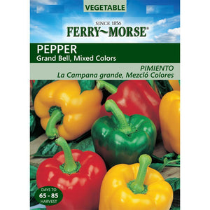 Pepper Bell Color Mix Seeds